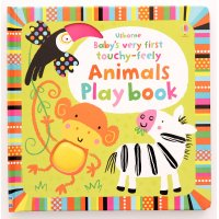 Baby's very first touchy - feely Animals playbook
